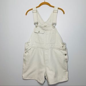 GAP Vintage 90s Overall Shorts